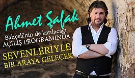 Ahmet Şafak, Konserde Sevenleriyle Buluşacak