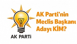 AK Parti'nin Meclis Başkanı Adayı Kim?