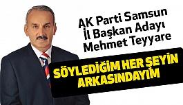 AK Parti Samsun İl Başkan Adayı Teyyare'den Büyük İddia!