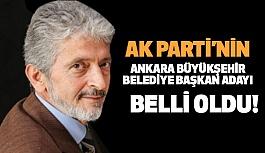 Ankara Büyükşehir Belediye Başkan Adayı Belli Oldu