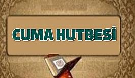 Bu Günkü 03 Kasım 2017) Cuma Hutbesi: Sünnet; Nebevi Kılavuz