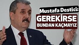 Destici'den AK Parti-MHP-BBP İttifakı Üzerine Açıklama