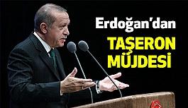 Erdoğan'dan taşeronlara Müjde!