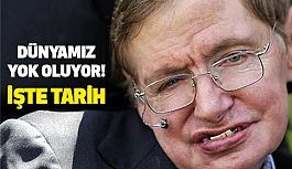 Hawking, İnsanlık Yok Olacak (Tarih Verdi)