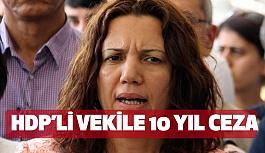 HDP'li Milletvekili Irmak'a 10 Yıl Ceza...