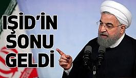 İran Cumhurbaşkanı Ruhani; IŞİD'in Sonu Geldi