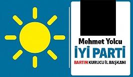 İYİ Parti Bartın Kurucu İl Başkanı Mehmet Yolcu Oldu