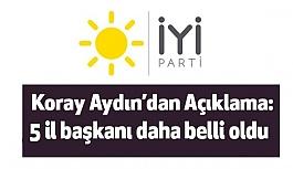 İYİ Parti Antalya, Bartın, Karabük, Konya ve Muğla Başkanları Belli Oldu