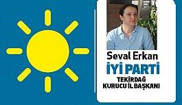 İYİ Parti Tekirdağ Kurucu İl Başkanı Seval Erkan Oldu