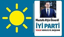 İYİ Parti Tokat İl Başkanı M. Afşin Ünverdi Oldu