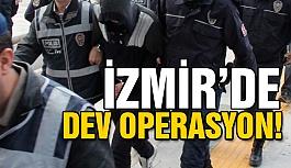 İzmir'de FETÖ operasyonu: 53 gözaltı
