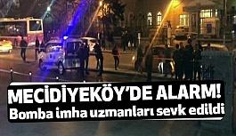 Mecidiyeköy'de Bomba Alarmı!