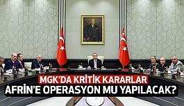 MGK Toplantısı Sona Erdi (Afrin Sinyali)