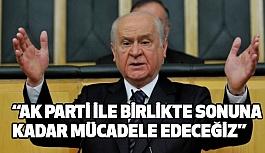 """MHP'den Ak Parti'ye """"FUL"""" Destek"""