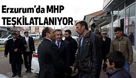 MHP Erzurum Karayazı'yı da Teşkilatlandırdı