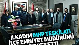 MHP İlkadım Teşkilatından İlçe Emniyet Müdürlüğü'ne Ziyaret