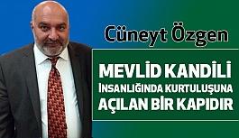 MHP Ladik İlçe Başkanı Özgen; Mevlid Kandilini Kutladı