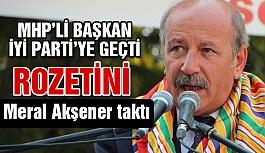 MHP'li Başkan ve Meclis Üyeleri İYİ Parti'ye Geçti
