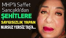 MHP'li Sancaklı'dan Şehitlere Dil Uzatan Nur Yerlitaş'a...