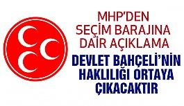 """""""MHP; Türk Siyasetinin Hancı Partisi Olduğunu Defalarca İspatlamıştır"""""""