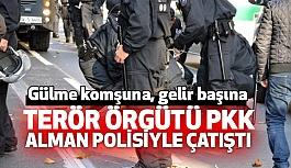 PKK'lılar, Alman polisiyle Çatışmaya Girdi