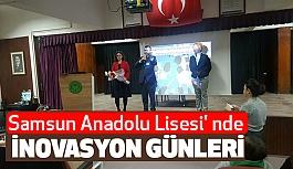 Samsun Anadolu Lisesi' nde İnovasyon Günleri