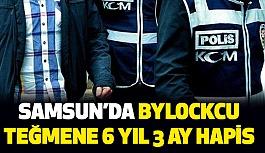 Samsun'da ByLockcu teğmene 6 yıl 3 ay hapis