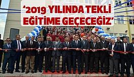 Samsun Valisi Kaymak: 2019 yılında tekli eğitime geçeceğiz