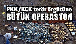 Terör Örgütü PKK/KCK' ya Büyük Operasyon