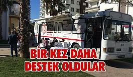 Türk Kızılayı'na Bir Kez Daha Destek Oldular