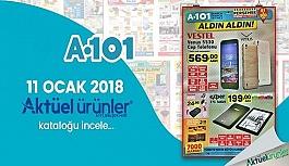A101 11 Ocak 2018 Aktüel Ürünler Broşürü ve İndirim Kataloğu
