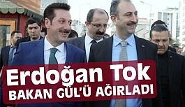 Bakan Gül, Erdoğan Tok'un Misafiri Oldu
