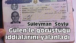 """Bakan Soylu, """"Gülen'le görüştüğü"""" iddialarını yalanladı"""