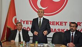 """Başkan Topçu; """"MHP hiçbir siyasi partinin yandaşı değildir"""""""