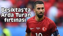 Beşiktaş'ta Arda Turan fırtınası