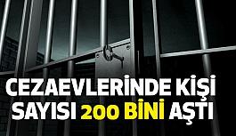 Cezaevlerinde Kişi Sayısı 200 Bini Aştı