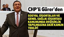 CHP'li Gürer'den Emekliler Arasındaki Adaletsizliğe Kanun Teklifi Verdi