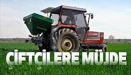 Çiftçilere Müjde