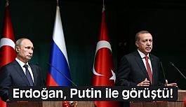 Cumhurbaşkanı Erdoğan, Rusya Devlet Başkanı Putin İle Görüştü!