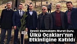Develi Kaymakamı Murat Duru, Ülkü Ocakları'nın Etkinliğine Katıldı