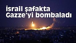 İsrail Gazze'ye Füze Saldırısı Düzenledi