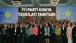 İyi Parti Konya'da Teşkilatını Tanıttı
