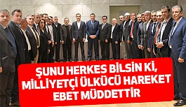 İzmir'de, MHP ve Ülkücü Başkanlar Kahvaltı'da Buluştu