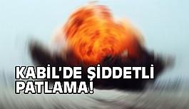 Kabil'de şiddetli patlama