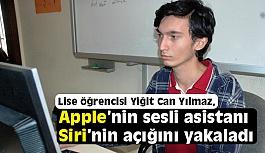 Kahramanmaraşlı 16 Yaşındaki Türk, Siri'nin Açığını Buldu