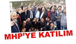 Kavaklıdere'de MHP'ye Katılım