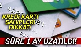 Kredi Kartı Sahipleri Dikkatine!