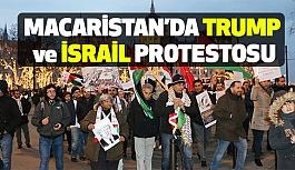 Macaristan'da ABD ve İsrail'e Protesto