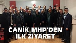 MHP Canik İlçe Başkanı Aydın'dan İlk Ziyaret