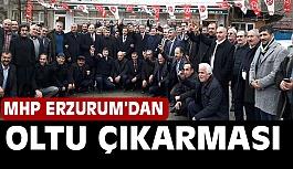 MHP Erzurum'dan Oltu Çıkarması